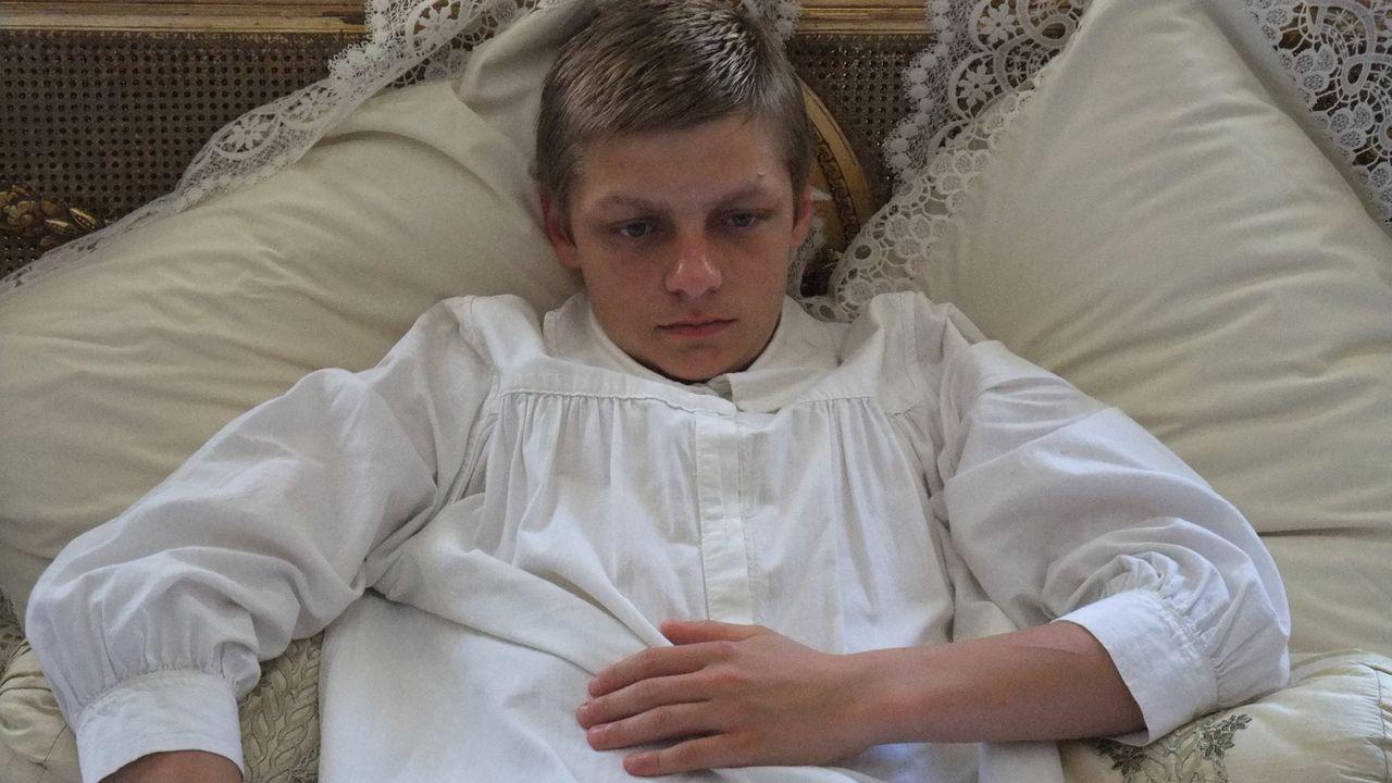 Der Sohn des Zaren Nicholas II., Alexei (Bild), litt unter einer tödlichen Krankheit. In der Hoffnung ihm das Leben retten zu können, ließen seine E... - Bildquelle: Parthenon Entertainment Limited