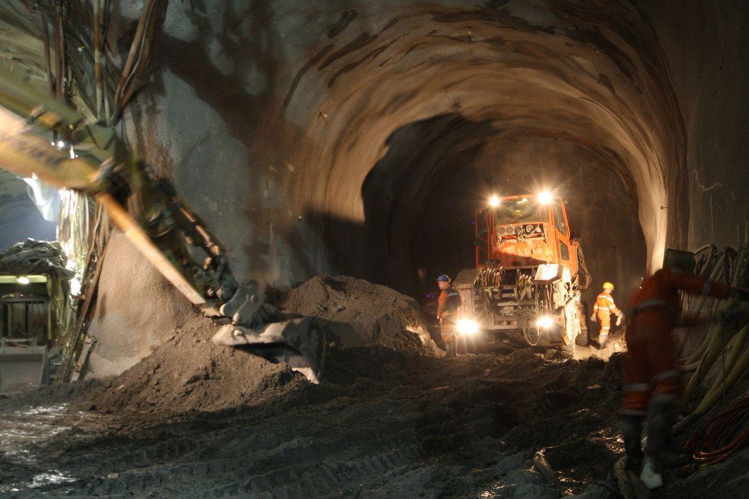 Der Gotthard-Basistunnel - Bildquelle: Caroline Harvey Caroline Harvey