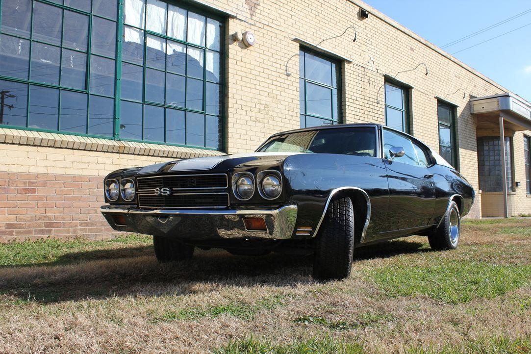 Können Dan und seine Kollegen tatsächlich einen 1970er Chevrolet Chevelle SS behindertengerecht umbauen? - Bildquelle: Javier Rivera New Dominion Pictures LLC.