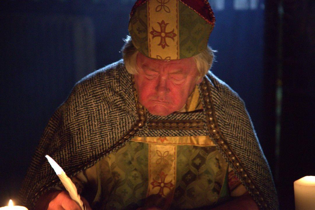 Bittere Erkenntnis: Der Bischof schreibt einem Brief an den Papst, um ihm mitzuteilen, dass das Turiner Grabtuch eine Fälschung ist ... - Bildquelle: ELLIE