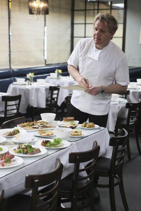 Gutes Essen locken immer Gäste an, das weiß auch Sternekoch Gordon Ramsay ... - Bildquelle: Fox Broadcasting.  All rights reserved.