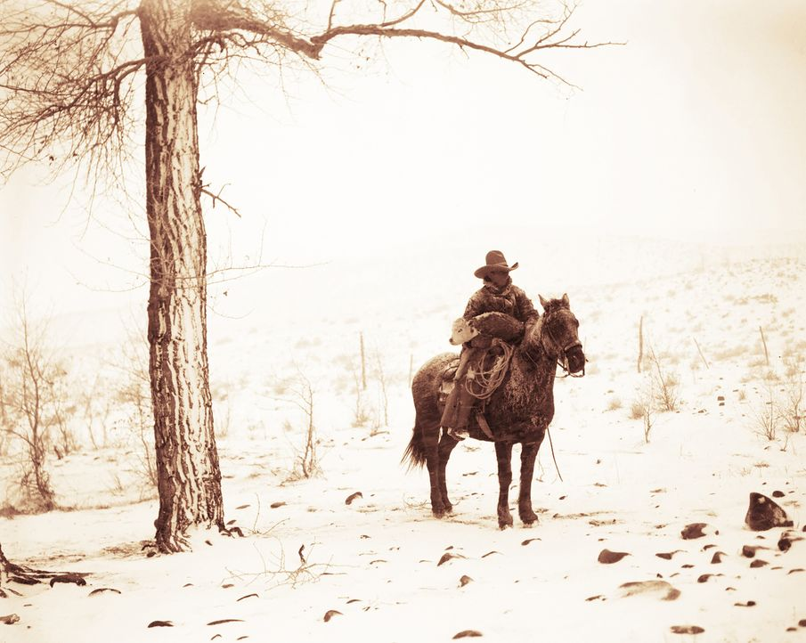 """Bis heute entstanden zahlreiche Film- und Fernsehproduktionen über Cowboys und deren abenteuerliches Leben im Wilden Westen. """"Cowboys - Mythos der W... - Bildquelle: 2016 Network Films Nine Inc."""