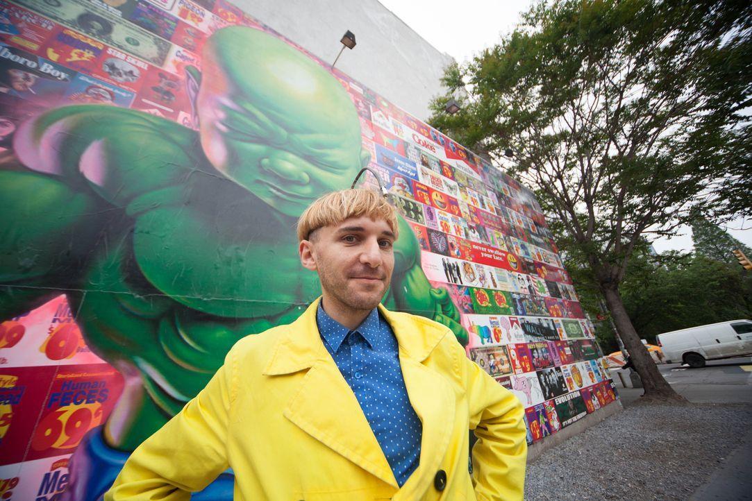 Buntes Gehör: Neil Harbisson sieht Farbe durch Klang... - Bildquelle: Nadege Laici BBC / Nadege Laici Level A