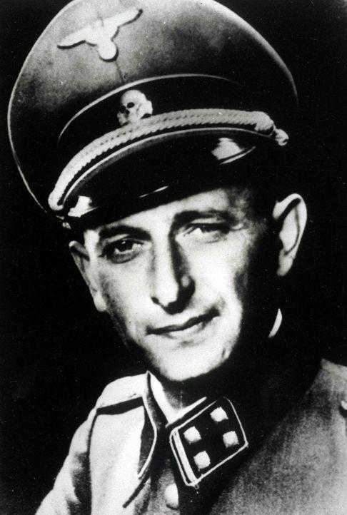 SS-Obersturmbannführer Adolf Eichmann war der Cheflogistiker des Holocaust.. Nach dem Krieg floh er nach Argentinien, wo ihn 1960 der Mossad nach Is... - Bildquelle: Popperfoto/Getty Images
