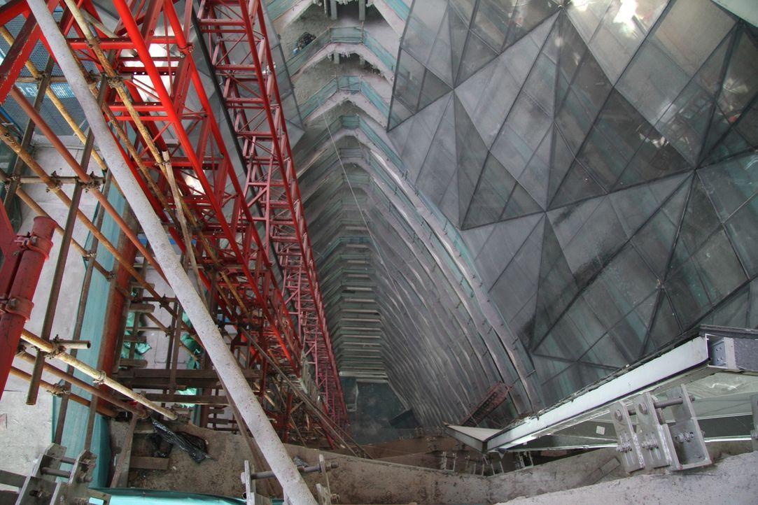 China bemüht sich, umweltbewusst zu bauen - mit dem Pearl River Tower in Gua... - Bildquelle: NGC Network International, LLC All rights reserved.