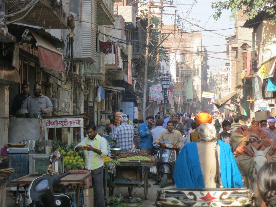 Das Durcheinander in Punjab, Indien, zieht Anthony Bourdain sofort in seinen Bann und erschlägt ihn gleichzeitig ... - Bildquelle: 2014 Cable News Network, Inc. A TimeWarner Company All rights reserved