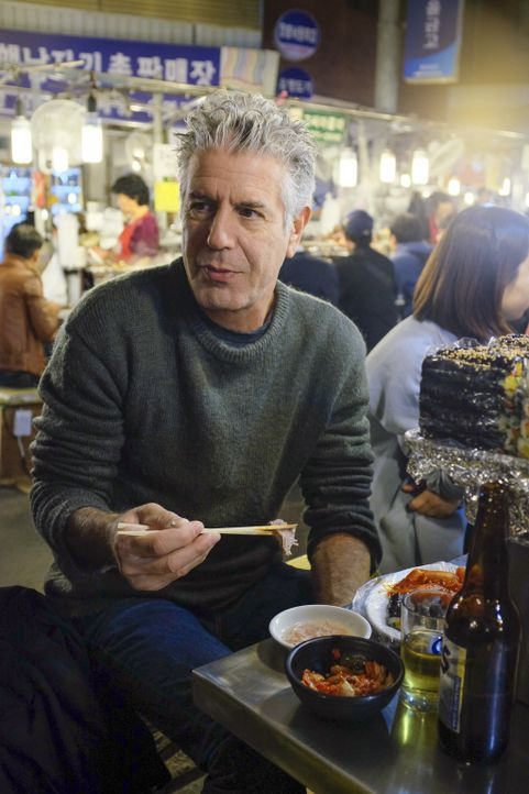 Anthony Bourdain reist nach Südkorea und geht dort auf kulinarische Entdeckungstour .... - Bildquelle: 2015 Cable News Network, Inc. A TimeWarner Company All rights reserved