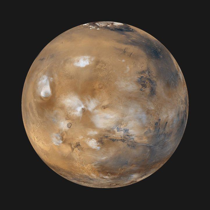 Ist ein Leben auf anderen Planeten wie dem Saturn oder Mars (Bild) möglich? Seit ihrer Gründung im Jahr 1958 erforscht die US-Raumfahrtbehörde NASA... - Bildquelle: NASA