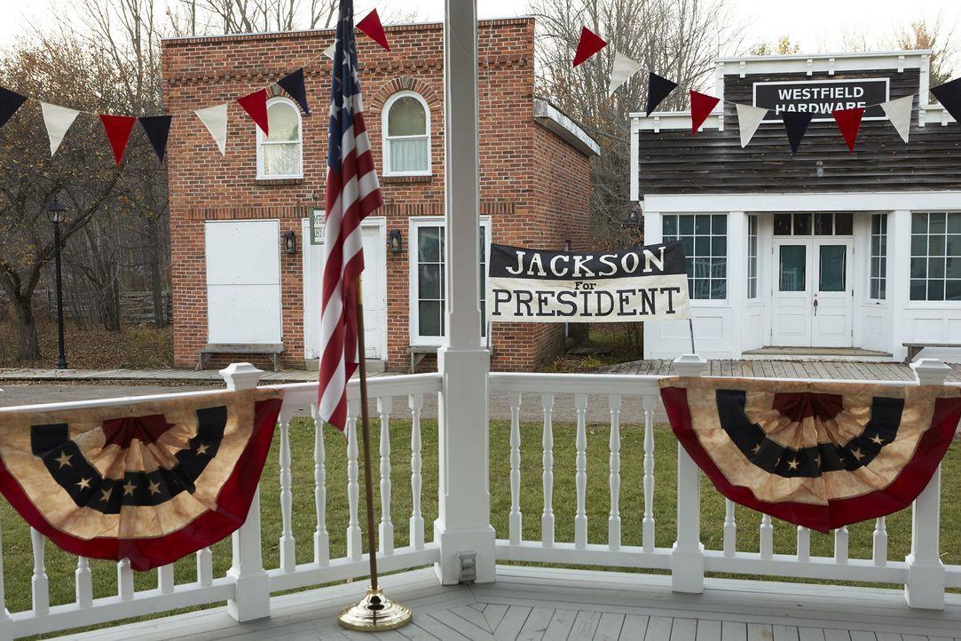 1828: Andrew Jackson vs John Quincy Adams: Erneut treten die beiden Kandidaten zum Kampf um die Präsidentschaft an. Wer wird diesmal gewinnen? - Bildquelle: 2015 Cable News Network, Inc. A TimeWarner Company. All rights reserved