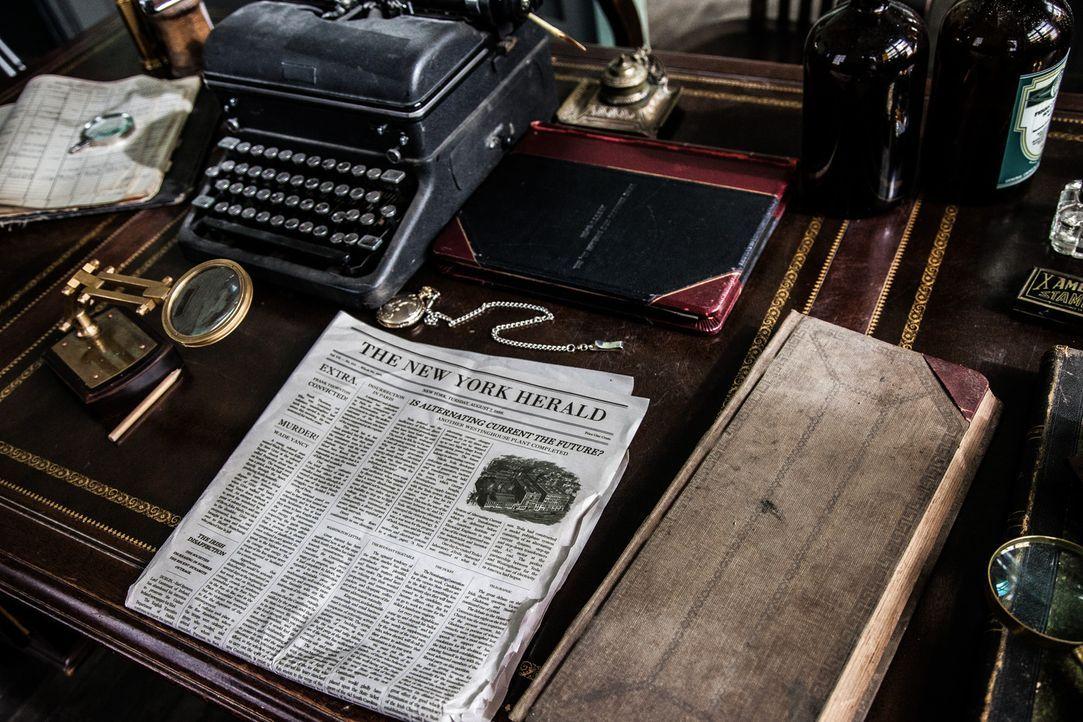 Die erbitterte Rivalität im Kampf um höhere Auflagen zwischen William Randolph Hearst und Joseph Pulitzer machte aus der Zeitung erst das Massenmedi... - Bildquelle: John Frazer FRAZERS PHOTOGRAPHY