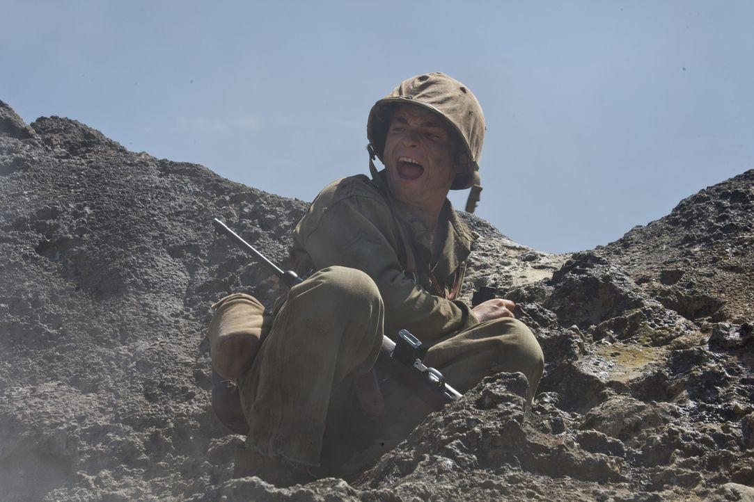 Nach und nach bahnen sich drei amerikanische Regimenter (Martin McCann) ihren Weg durch die japanischen Stellungen und schnüren die Reste der japani... - Bildquelle: Home Box Office Inc. All Rights Reserved.