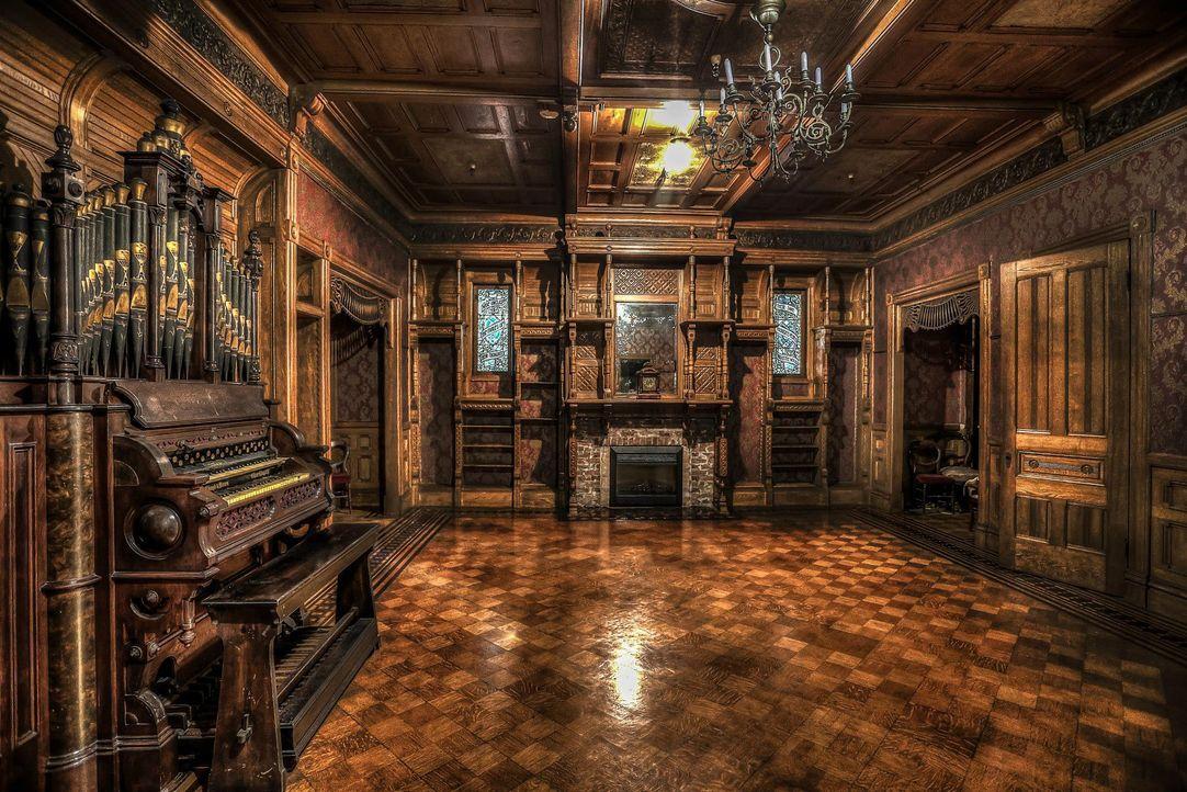 Geheimnisvolle Bauwerke - Bildquelle: Winchester Mystery House, LCC