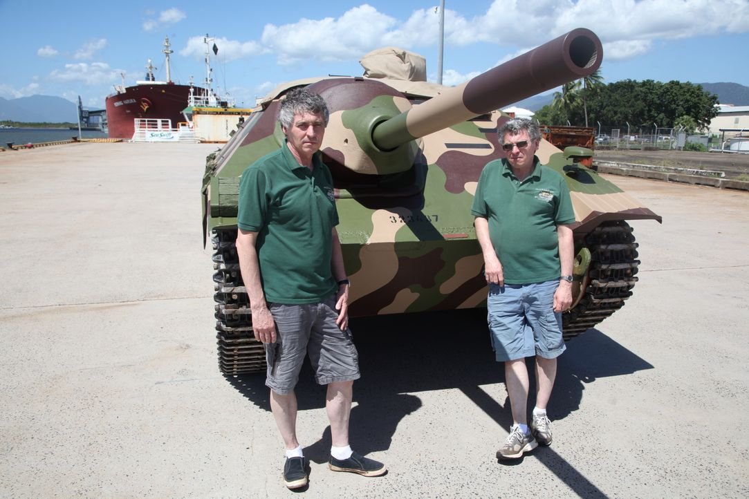 Ein Panzer auf Weltreise - Bildquelle: WAGTV