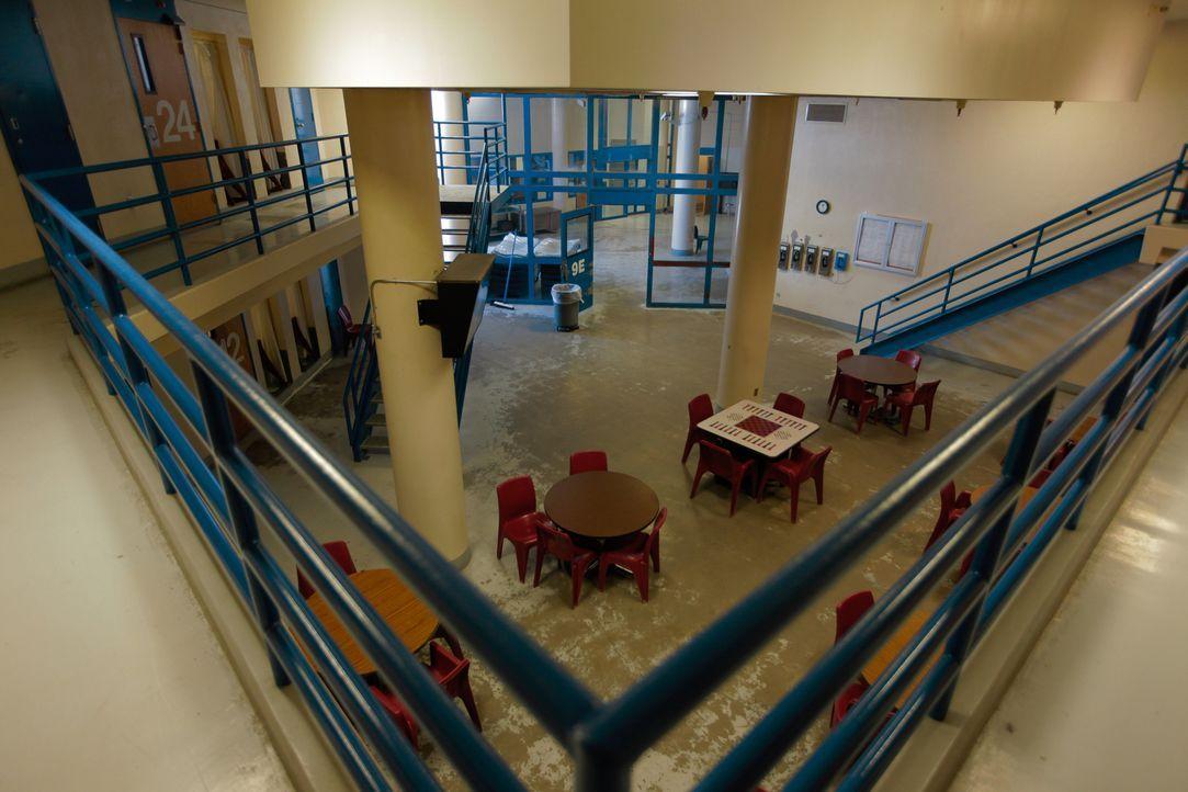 Las Vegas ist ein Hochpunkt für Gangaktivitäten, weswegen auch das Clark County Detention Center immer wieder Mittelpunkt von gewaltsamen Gangtätigk... - Bildquelle: James Peterson National Geographic Channels