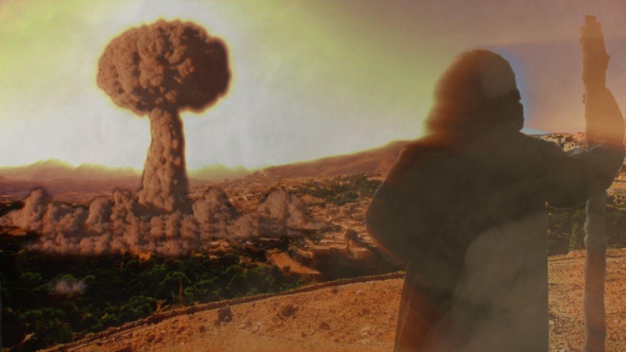 Wahrheit oder Mythos? Laut der Bibel zerstörte Gott die Städte der Sünde, Sodom und Gomorrha, in einem Hagel aus Schwefel und Feuer, tötete jedes do... - Bildquelle: Oscar Chan