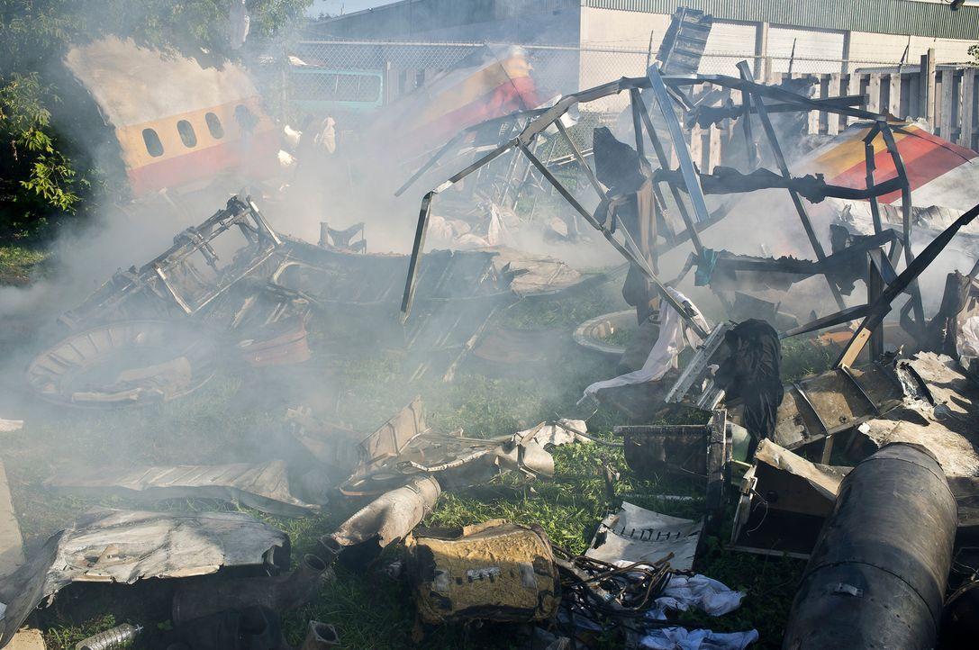 Am 25. September 1978 kollidieren eine Boeing 727 und eine Cessna kurz vor San Diegos Flughafen. 144 Tote macht dieses Unglück zum tödlichsten Crash... - Bildquelle: Panagiotis Pantazidis Cineflix 2011