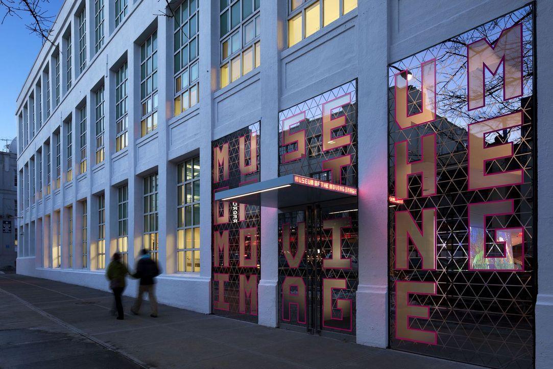 Das Filmmuseum Museum of the Moving Image befindet sich in New York City auf dem ehemaligen Gelände des Kaufman Astoria-Filmstudios. Es sammelt und... - Bildquelle: 2014, The Travel Channel, L.L.C. All Rights Reserved.