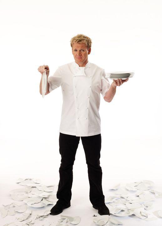 Das Ziel von Sternekoch Gordon Ramsay ist es, die bitteren Tränen der verzweifelten Restaurant-Besitzer zu guter Letzt in Freudentränen zu verwandel... - Bildquelle: George Holz Fox Broadcasting.  All rights reserved.