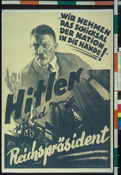 Im Jahr 1933 wurde Adolf Hitler zum Reichskanzler gewählt. Seine Anhänger vereinte der gemeinsame Gruß und die Bereitschaft, Hitler bis in den Krieg... - Bildquelle: Vivendi Content and Lets Pix Productions