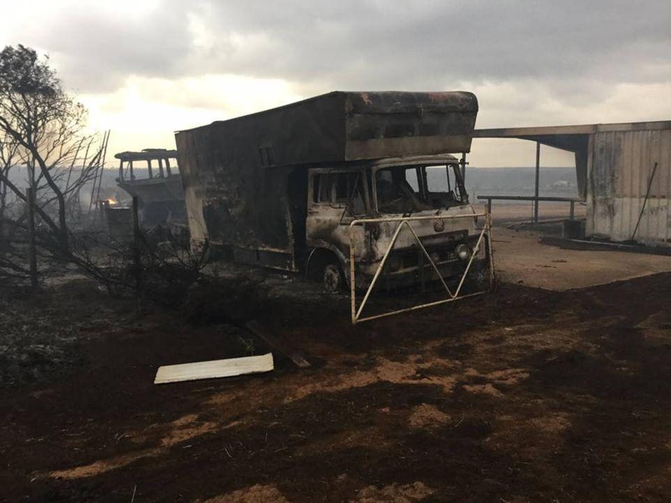 Eine schreckliche Feuersbrunst fegt über Süd-Australien hinweg. Die furchter... - Bildquelle: Back2Back Productions