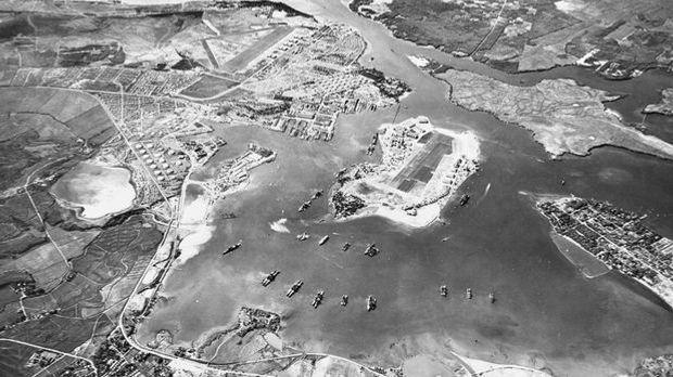 Pearl Harbor von oben