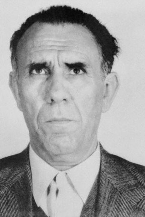 Gaetano Badalamenti, ein sizilianischer Mafioso, der zeitweise der mächtigste Mann in der Cosa Nostra war ...