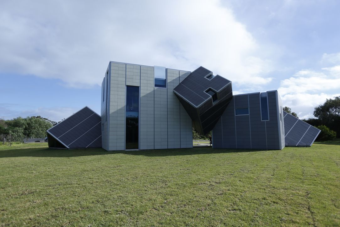 Zu den ungewöhnlichsten Immobilien zählen heute ein Gebäude in Japan, das di... - Bildquelle: 2012, HGTV/Scripps Networks, LLC. All Rights Reserved