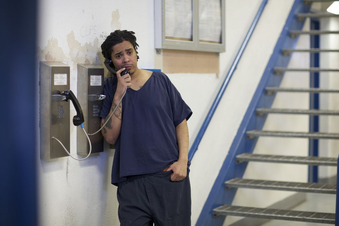 Seine Hoffnungen seinen Sohn per Telefon zu erreichen, werden für den Häftling Antoine Valentin zerstört ... - Bildquelle: James Peterson National Geographic Channels