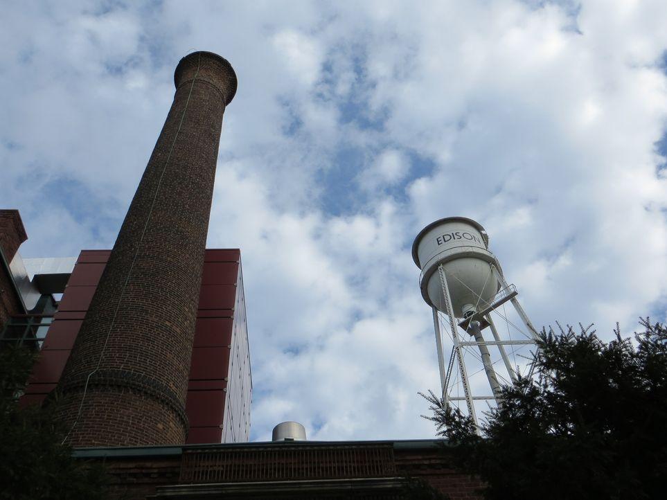 Don Wildman nimmt eine misslungene Erfindung von Thomas Edison unter die Lupe. Und stattet Edisons ehemaligen Labor in West Orange einen Besuch ab ... - Bildquelle: 2014, The Travel Channel, L.L.C. All Rights Reserved.