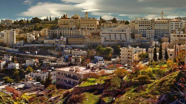 Die biblische Stadt Bethlehem
