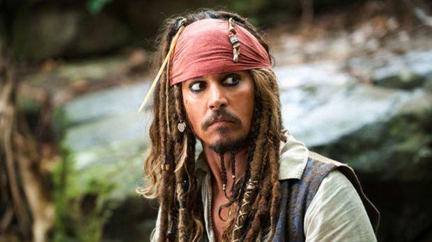 "Captain Jack Sparrow aus ""Fluch der Karibik"""