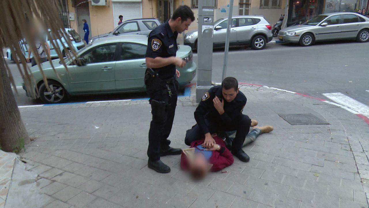Auch in Tel Aviv sind die Auswirkungen des Palästinenserkonflikts täglich zu... - Bildquelle: Licensed by Keshet International