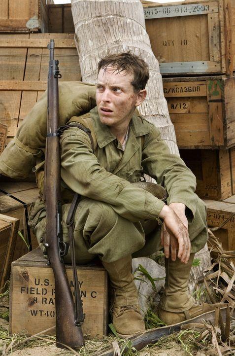Das vermeintliche Paradies auf Guadalcanal erweist sich als der erste brutale Kriegsschauplatz für den blutjungen Ronnie Gibson (Tom Budge) ... - Bildquelle: Home Box Office Inc. All Rights Reserved.