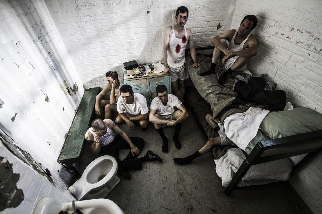 Aufstand auf Alcatraz: Im Jahr 1946 gelingt es drei Häftlingen auf der Gefängnisinsel Alcatraz, mehrere  Wärter zu überwältigen. Sie bewaffnen sich... - Bildquelle: 2015 REELZCHANNEL, LLC.  All Rights Reserved.