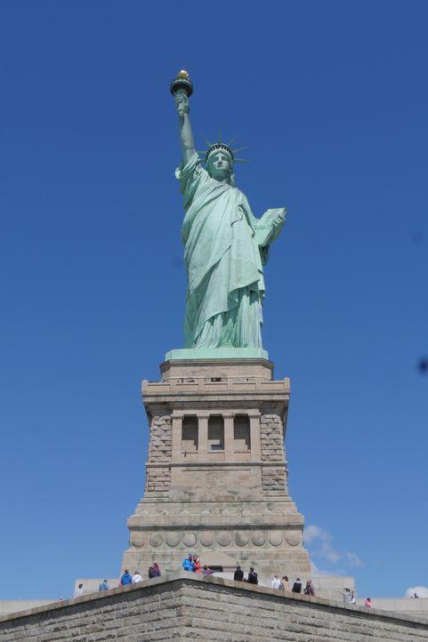 Die Freiheitsstatue ist eines der Wahrzeichen Amerikas. Doch was vielen verborgen bleibt, ist die wahre Geschichte dieser erstaunlichen Statue ... - Bildquelle: Indigo Films/ DCL