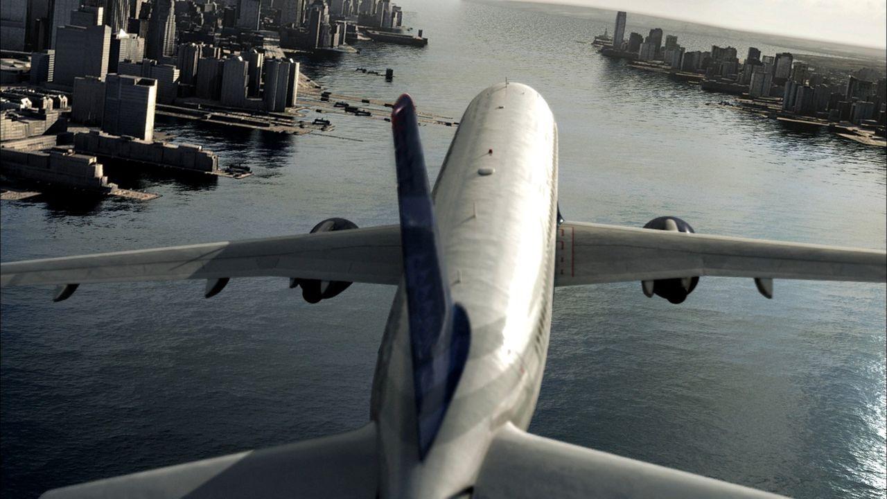 Januar, 2009: Kurz nach dem Start vom New Yorker LaGuardia Flughafen gerät die Maschine in einen Vogelschwarm. Beide Motoren fallen aus und lassen s... - Bildquelle: Cineflix 2010