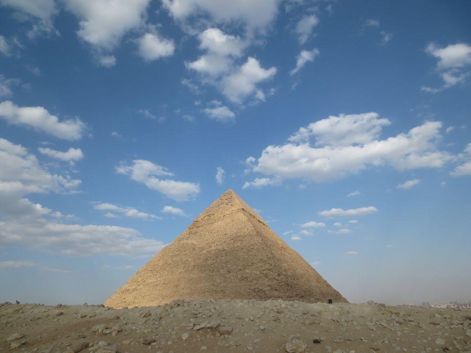 Wie haben die Menschen von damals solch unglaubliche Bauwerke wie die Pyrami... - Bildquelle: Prometheus Entertainment