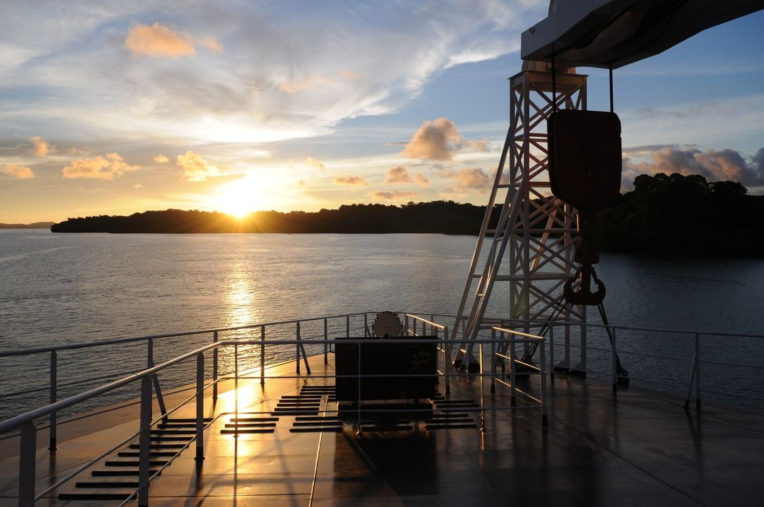 Schwergewicht der Schifffahrt: Die Beluga Bremen ist der weltweit erste Mehrzweck-Schwergut-Frachter, der mehr als 1.400 Tonnen Gewicht heben kann. - Bildquelle: Exploration Production Inc.