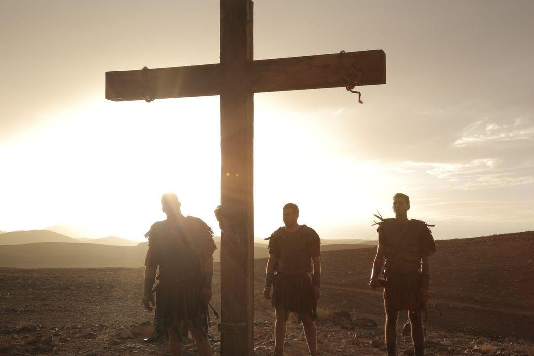 Die drei Apostel Johannes, Judas und Jakobus begeben sich auf eine gefährliche Mission in den nördlichen Ausläufern der damals bekannten Welt - nach... - Bildquelle: Arcadia Entertainment Inc.Production. 2015