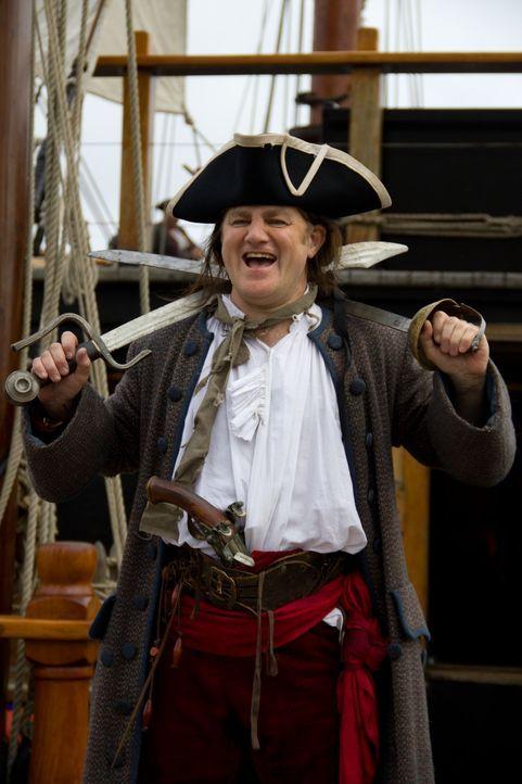 Kapitän William Kidd (Foto) ist einer der berühmtesten Piraten der Geschichte. Legenden über seine Gewaltbereitschaft, seine Gerissenheit und seinen... - Bildquelle: 2011 - Parthenon Entertainment Ltd All rights reserved.