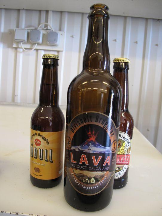 Der Name ist Programm: Doch wie wird vulkanisches Bier in Island hergestellt? - Bildquelle: 2014, The Travel Channel, L.L.C. All Rights Reserved.