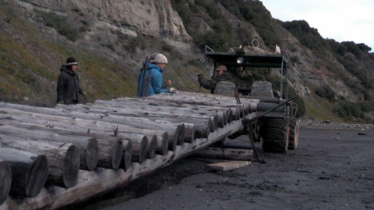 Steine, Stahl und Silberlachs - Bildquelle: Discovery