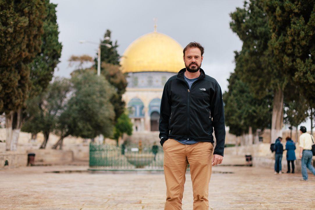 Wo ist der verlorene Schatz der Tempelritter? Überlieferungen besagen, dass die Templer Jerusalem geplündert und riesige Mengen an Münzen und Gold s... - Bildquelle: LIKE A SHOT ENTERTAINMENT 2014