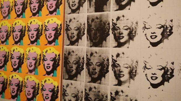 Andy Warhols ikonisches Marilyn Monroe-Bild