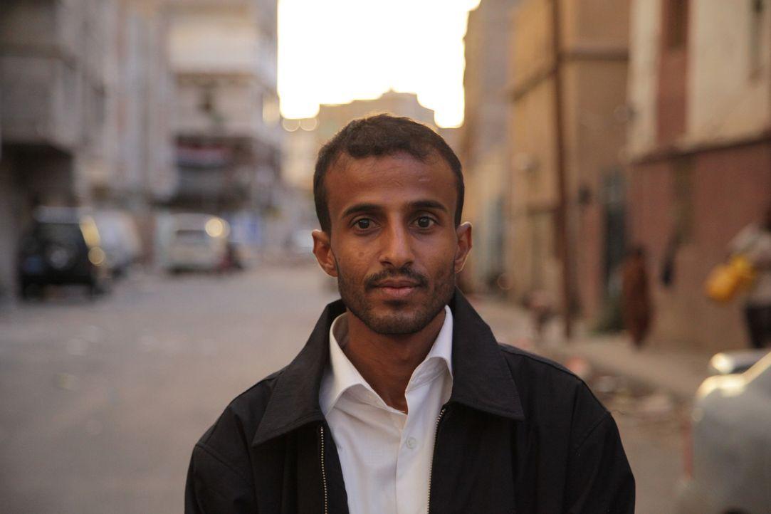 Ist die letzte Hoffnung vieler Jugendlichen, die im Jemen auf ihre Todesstrafe warten: Anwalt Hafedh Ibrihim ... - Bildquelle: Quicksilver Media 2012
