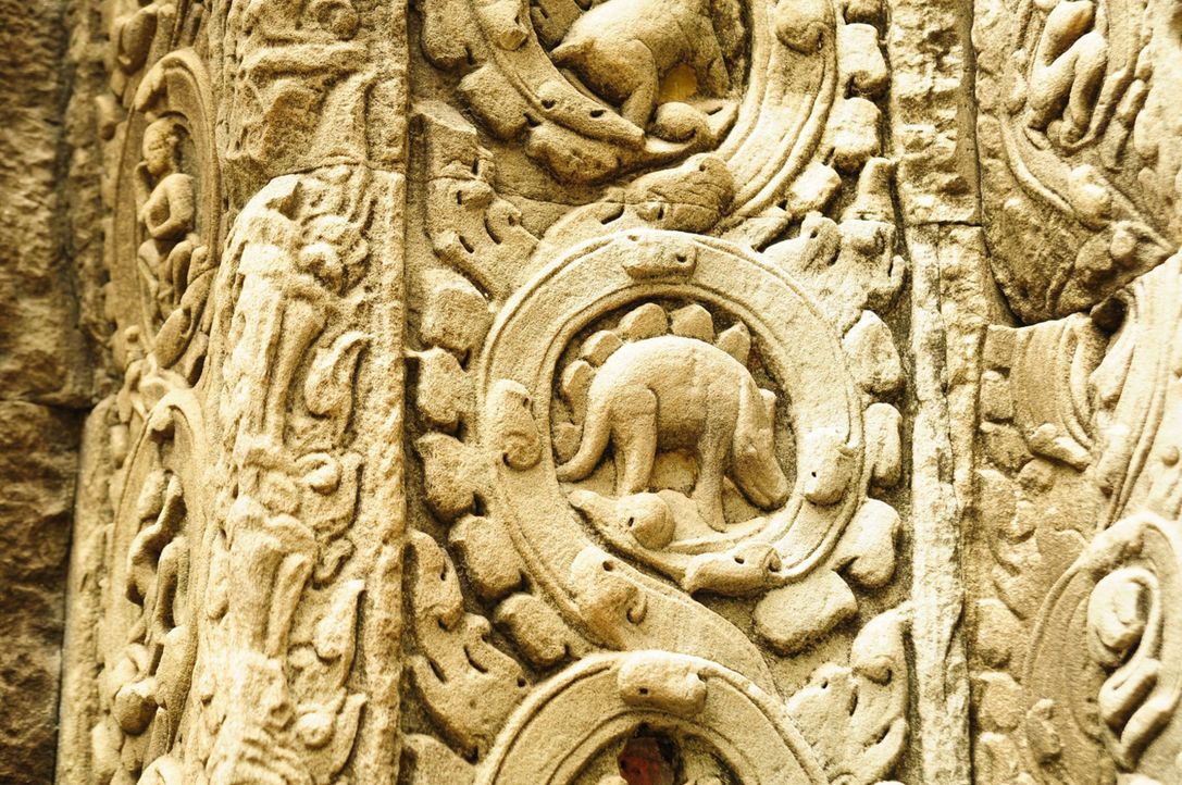 In der größten historischen Tempelanlage der Welt, Angkor Wat (Bild), haben Forscher erstaunliches entdeckt - die Darstellung eines Dinosauriers. Do... - Bildquelle: Pond5