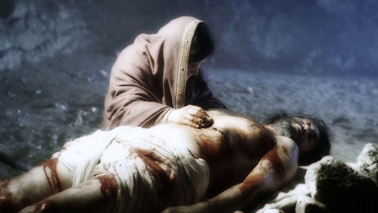 Das Grabtuch von Turin, das Jesus nach seiner Kreuzigung bedeckt haben soll, galt einige Zeit als der wahre heilge Gral - bis Experten seine Fälschu... - Bildquelle: LIKE A SHOT ENTERTAINMENT 2014t