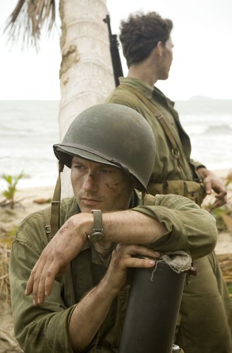 Wird von der eigenen Navy im Stich gelassen: der junge Marine Robert Leckie (James Badge Dale) ... - Bildquelle: Home Box Office Inc. All Rights Reserved.