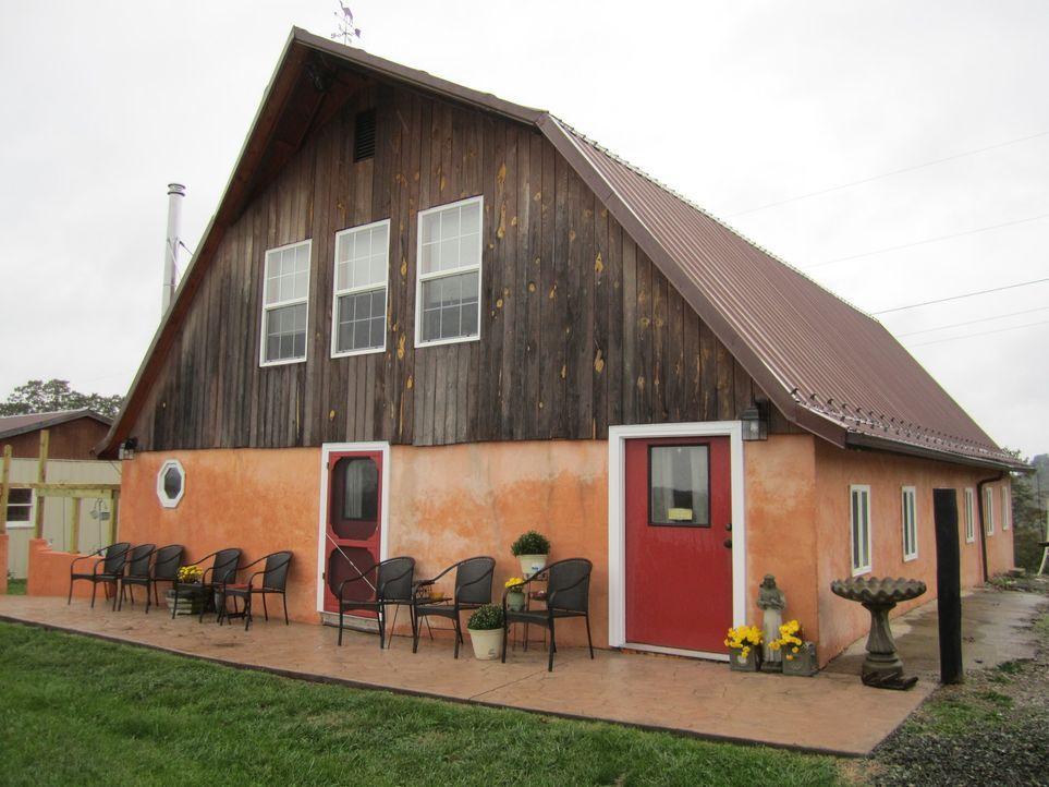 Ungewöhnliche Häuser finden sich auf der ganzen Welt, wie beispielsweise ein... - Bildquelle: 2013, HGTV/Scripps Networks, LLC. All Rights Reserved.