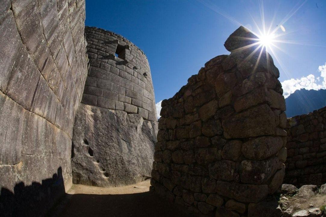 Eine außergewöhnliche Stadt in den Wolken: Machu Picchu, eine geheimnisumwitterte Ruinenstadt ... - Bildquelle: 2008 Darlow Smithson Productions Ltd, an IMG Entertainment Company. Parallax Film Productions Inc.